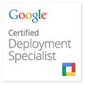 G Suite Certified Deployment Specialist Badge